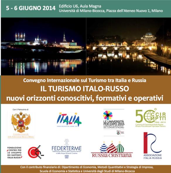 IL TURISMO ITALO - RUSSO | Convegno Università Milano - Bicocca