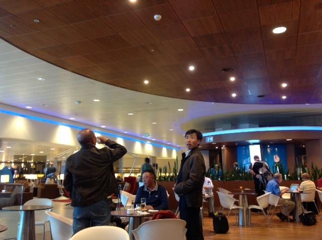 KLM lounge- Amsterdam | in attesa di volare a Shanghai