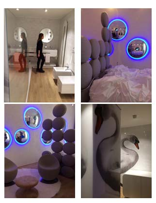 Swan Room| designed by Simone Micheli for Townhouse Duomo by SevenStar