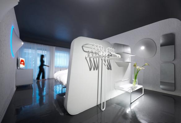 WorldHotel Ripa Roma | Design by Simone Micheli