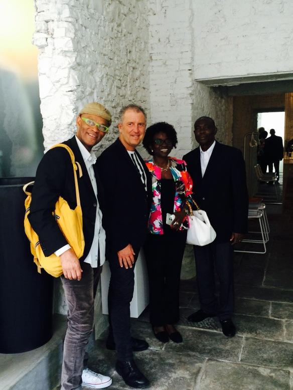 Ron Samuel, Simone Micheli, Faustina Dela Doh, Justice Ekuban | Simone Micheli Studio - Florence